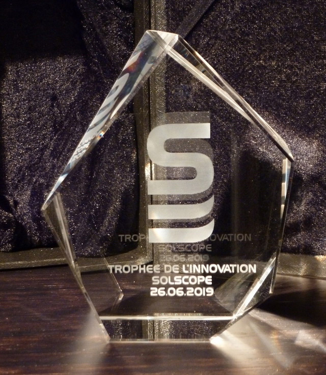 Trophée de l'innovation SOLSCOPE
